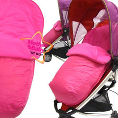 Pink Footmuff To Fit Quinny Zapp Buggy And Petite Star Zia Buggy. - Baby Travel UK  - 1