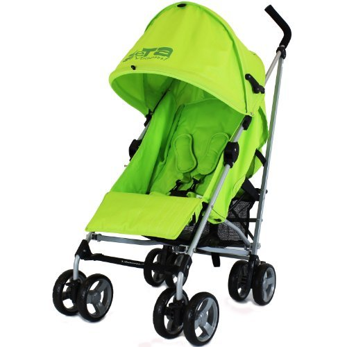 Zeta Vooom Atlas Lime Stroller Buggy Pushchair - Lime - Baby Travel UK  - 1