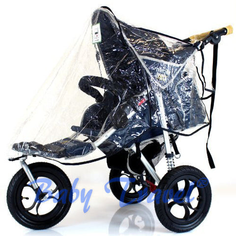 Rain Cover To Fit Hauck Citi Neo II 3 Wheeler Stroller (GOGO RC)