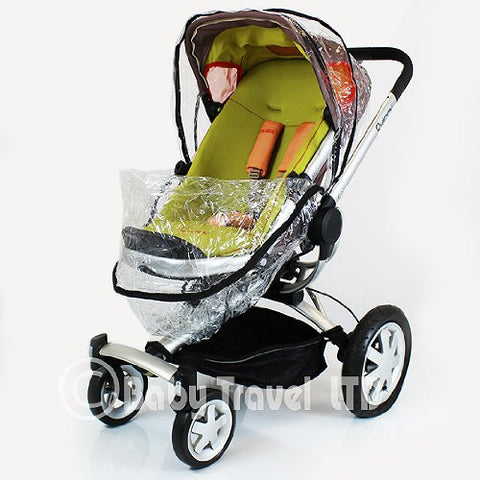 Set Of x2 (Ziko) Rain Cover To Fit Obaby Zoom Seat Units Tandem Ziko Raincover