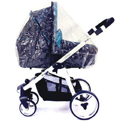 Rain Cover To Fit Uppababy Vista & Cruz Pushchair & Carrycot Pram Mode Zipped - Baby Travel UK  - 2