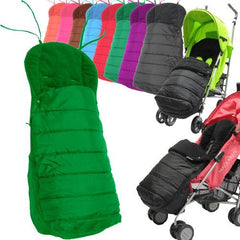 Universal Deluxe 2 In 1 Footmuff - Leaf (Green) - Baby Travel UK  - 2