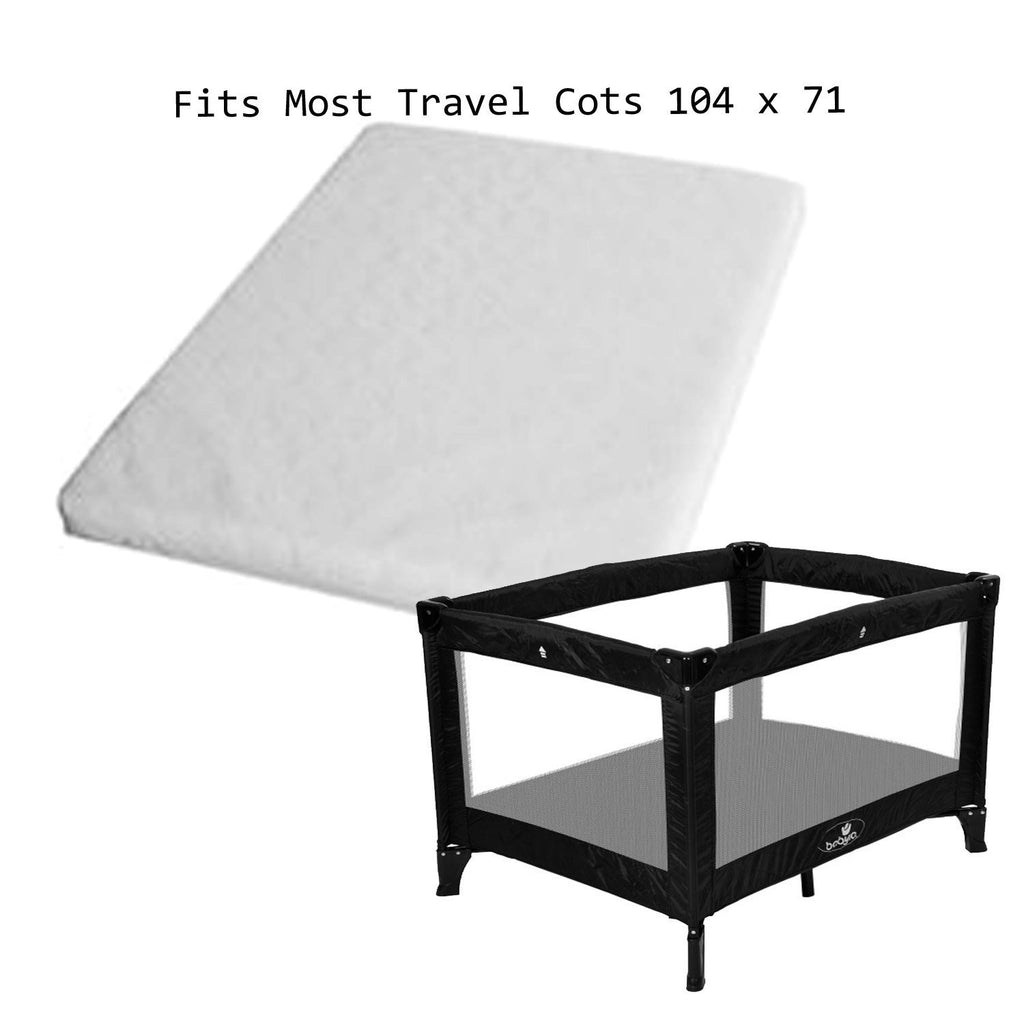 New Travel Cot Mattress To Fit 104 X 71 Cm Red Kite - Baby Travel UK