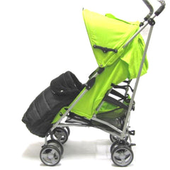 Universal Deluxe 2 In 1 Footmuff - Leaf (Green) - Baby Travel UK  - 3
