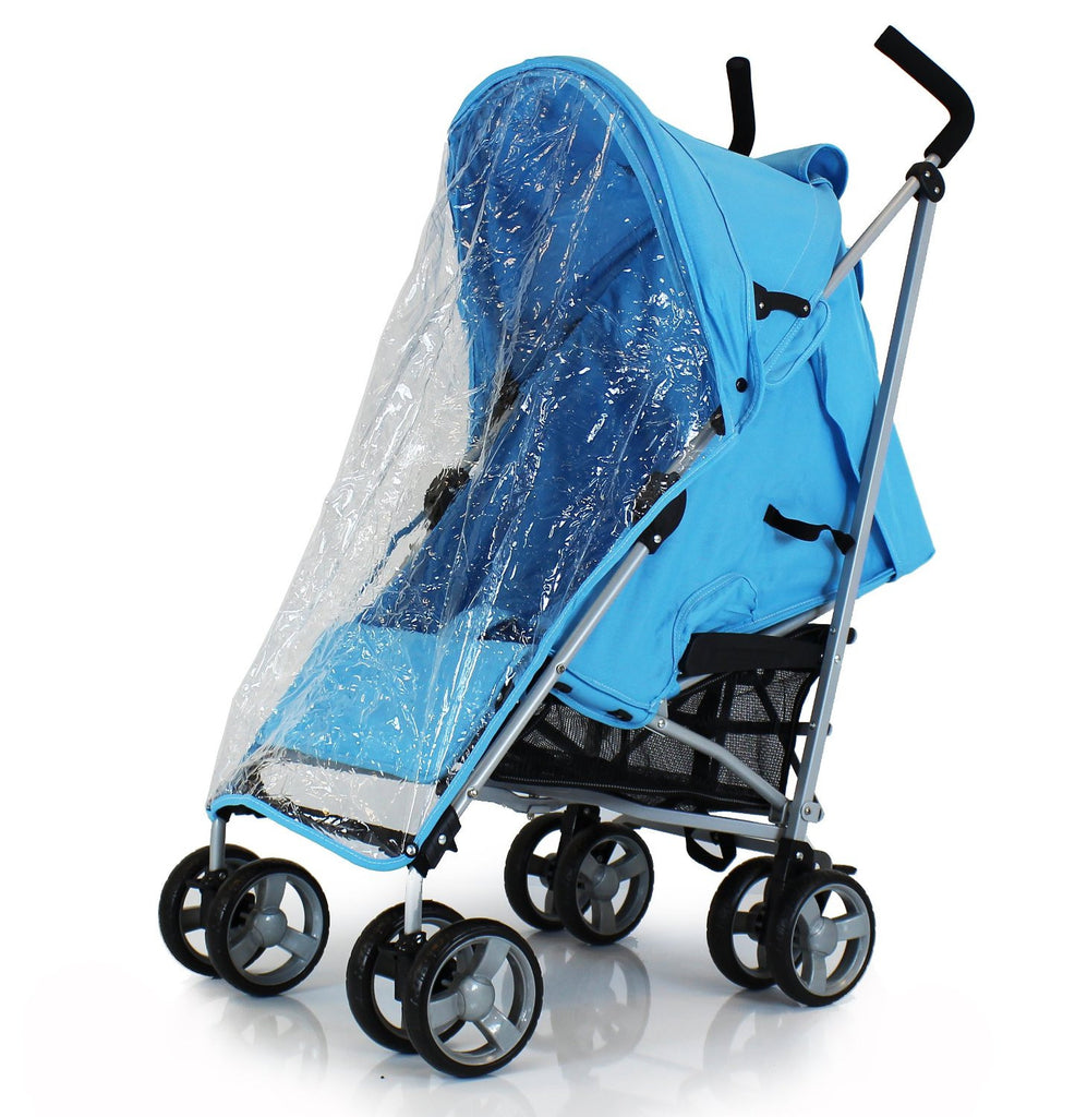 Baby Pushchair Zeta Vooom Stroller Ocean Blue - Baby Travel UK  - 6
