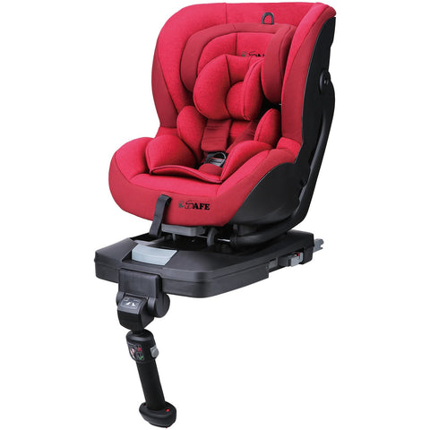 2019 iSafe Aurora iSOFIX Reclining Carseat Group 0+1 Rossa (Red)