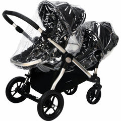 Raincover For Baby Jogger City Select Pushchair & Carrycot - Baby Travel UK  - 6