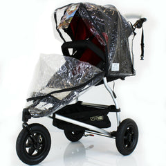 Baby Jogger Universal Rain Cover To Fit Summit Xs - Baby Travel UK  - 1