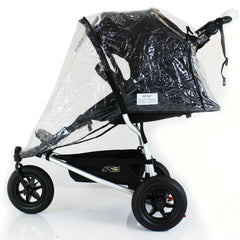 Rain Cover For Mountain Buggy Urban Weather Shield 3 Wheeler - Baby Travel UK  - 4