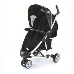 New Black Footmuff To Fit Quinny Zapp Buggy And Petite Star Zia Obaby Zoma Hauck - Baby Travel UK  - 2