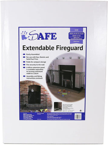 Fire Guard Extendable Fireguard iSafe
