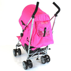 Pushchair Buggy Lightweight From Birth Rain Cover Stroller Pram Designer Baby - Baby Travel UK  - 6