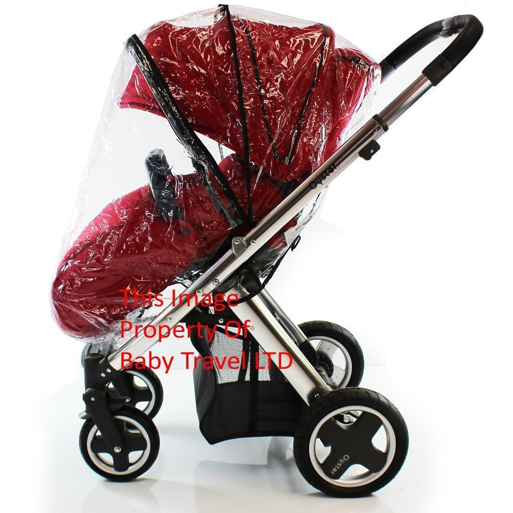 New Rain Cover Fits Mothercare Spin Stroller Rain Shield Cover Professional - Baby Travel UK  - 3