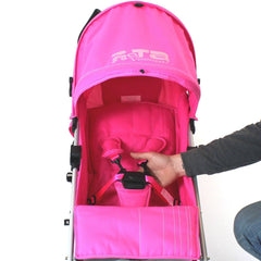 Pushchair Buggy Lightweight From Birth Rain Cover Stroller Pram Designer Baby - Baby Travel UK  - 7