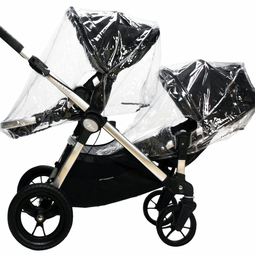 Raincover For Baby Jogger City Select Pushchair & Carrycot - Baby Travel UK  - 1