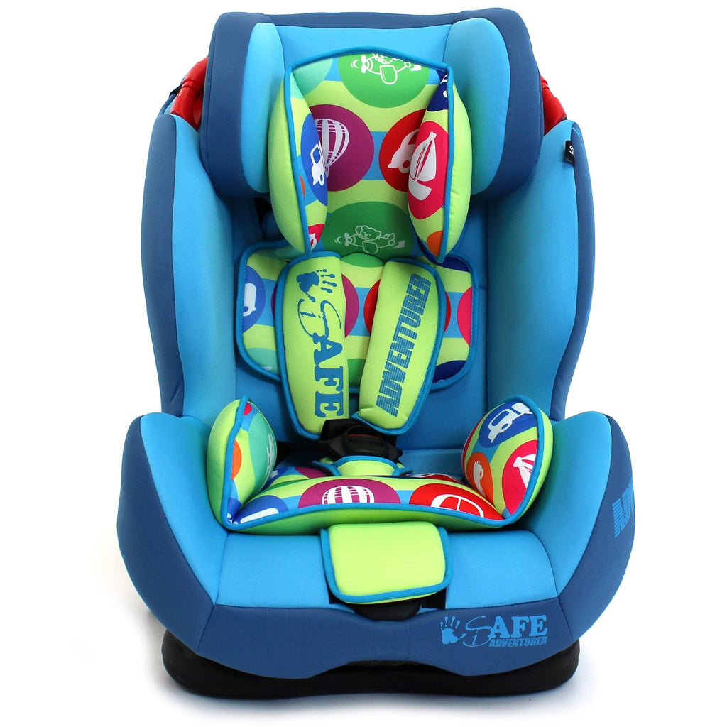 iSafe Isofix Duo Trio Plus Isofix  Top Tether Car Seat Carseat Adventurer - Baby Travel UK  - 1