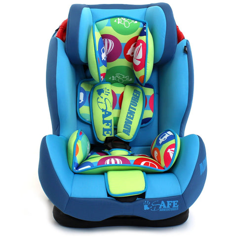 iSafe Multi Recline Isofix Car Seat Carseat Adventurer Group 1 2 3 9kg to 36kg