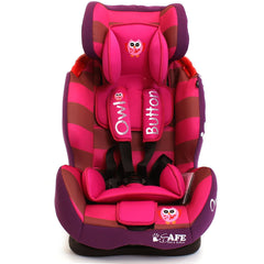 iSafe Isofix Duo Trio Plus Isofix  Top Tether Car Seat Carseat Button Owl - Baby Travel UK  - 2