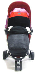 Stroller Pushchair Footmuff With Pouches Fits Zeta, Quinny Zapp - Baby Travel UK  - 2