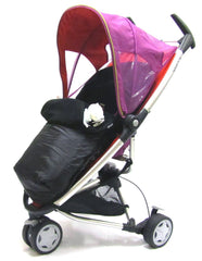 Stroller Pushchair Footmuff With Pouches Fits Zeta, Quinny Zapp - Baby Travel UK  - 1