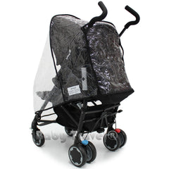 Rain Cover to Fit Graco Nimbly Stroller - Baby Travel UK  - 1