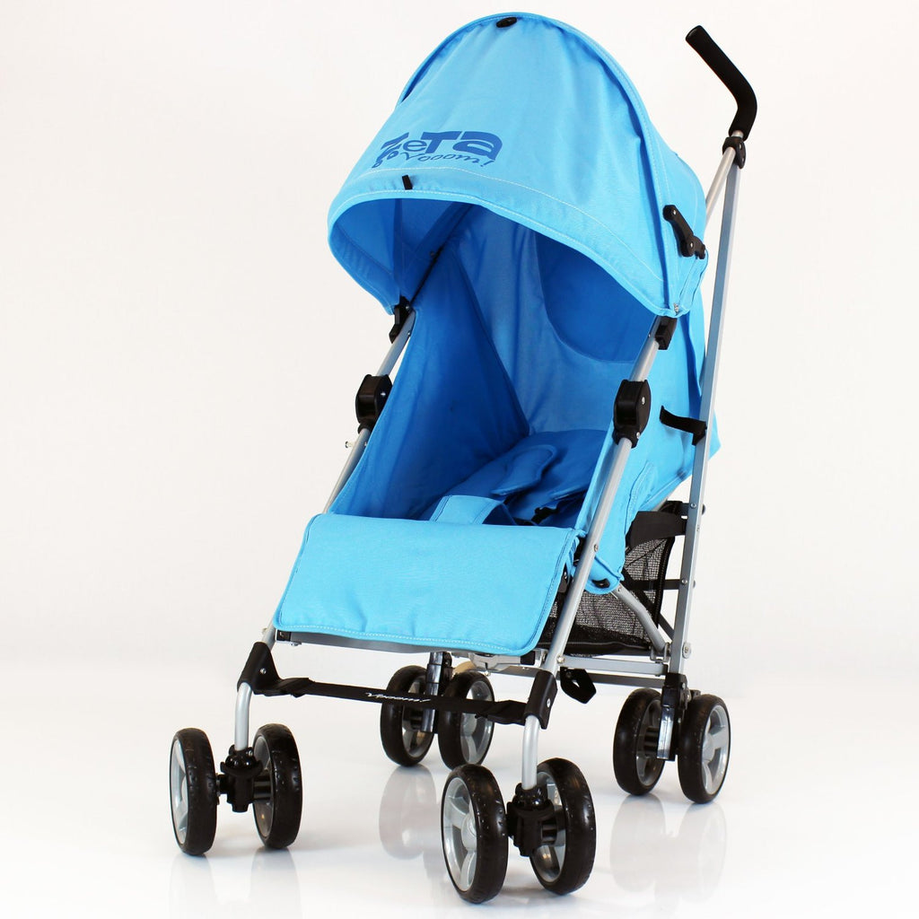 Zeta Vooom Ocean (complete Plain) Padded Footmuff Liner Stroller Pushchair - Baby Travel UK  - 5