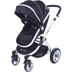 iSafe System - Black Travel System Complete Package With Bedding - Baby Travel UK  - 6