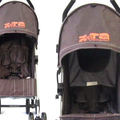 Baby Stroller Zeta Vooom! - Hot Chocolate + Buggy Organiser (Brown) - Baby Travel UK  - 8