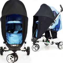 Sunny Sail Universal Red Kite Zebu Buggy Pram Stroller Shade Parasol Substitute - Baby Travel UK  - 5