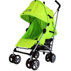 Zeta Vooom Atlas Lime Stroller Buggy Pushchair - Lime - Baby Travel UK  - 5