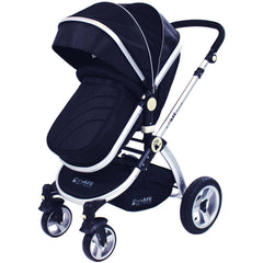 iSafe System - Black Travel System Complete Package With Bedding - Baby Travel UK  - 7