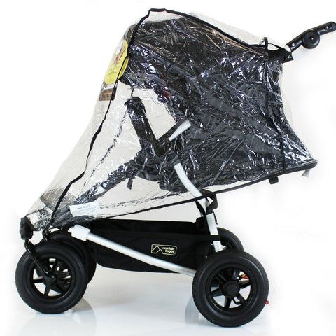 Raincover For Hauck Roadster Duo Twin Side By Side Double Pushchair