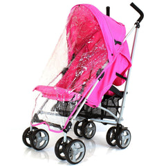 Pushchair Buggy Lightweight From Birth Rain Cover Stroller Pram Designer Baby - Baby Travel UK  - 8