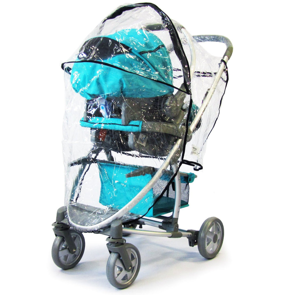 Hauck Malibu Pram 3 In 1 Universal Raincover - Baby Travel UK  - 1