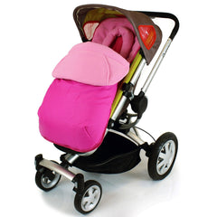 Pink Footmuff To Fit Quinny Zapp Buggy And Petite Star Zia Buggy. - Baby Travel UK  - 4