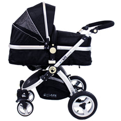 iSafe System - Black Travel System Complete Package With Bedding - Baby Travel UK  - 5