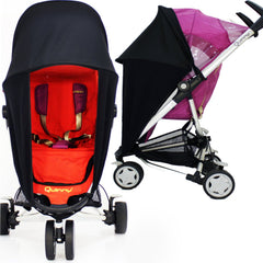Sunny Sail Universal Red Kite Zebu Buggy Pram Stroller Shade Parasol Substitute - Baby Travel UK  - 2