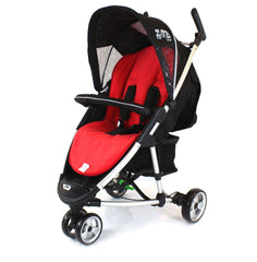 Red Liner Footmuff To Fit Quinny Zapp Buggy Petite Star Zia Obaby Zoma Hauck - Baby Travel UK  - 2