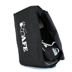 iSafe Universal Carseat Travel / Storage Bag For Britax Evolva 1-2-3 Plus Car Seat (Black Thunder) - Baby Travel UK  - 7