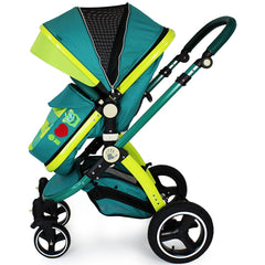 2018 iSafe Baby Pram System 3 in 1 Complete LiL Friend Design With ISOFIX Base