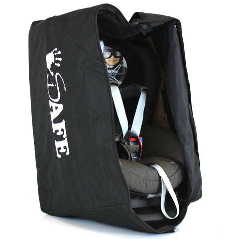 iSafe Carseat Travel / Storage Bag For Nuna Rebl i-Size Car Seat (Coffee)