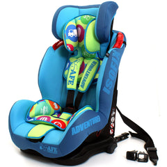 iSafe Isofix Duo Trio Plus Isofix  Top Tether Car Seat Carseat Adventurer - Baby Travel UK  - 6