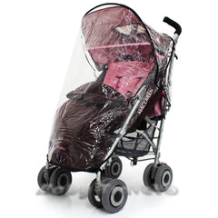 Rain Cover For Maclaren Techno Xlr Stroller - Baby Travel UK  - 1