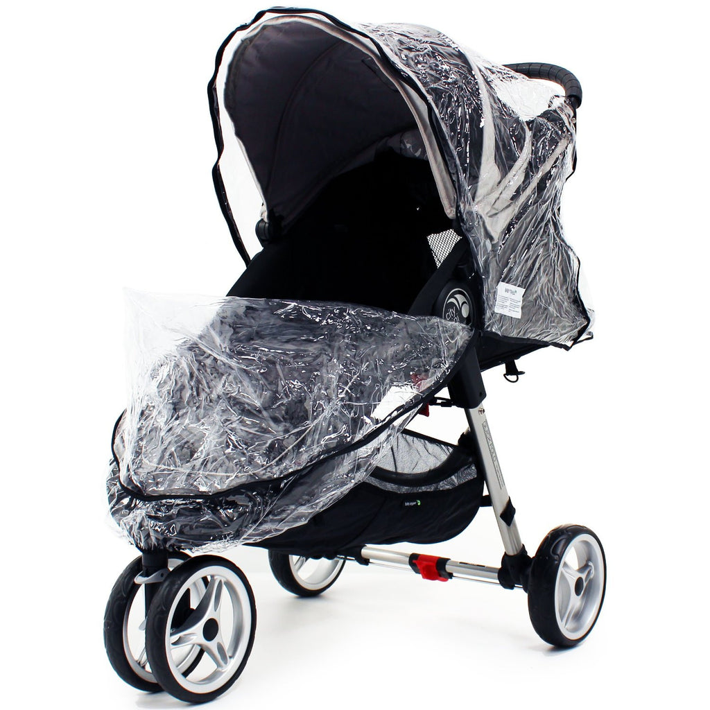 Baby Jogger City Mini Single Raincover - Baby Travel UK  - 1