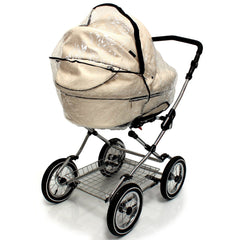 Rain Cover To Fit Babystyle Lux Carrycot - Baby Travel UK  - 3