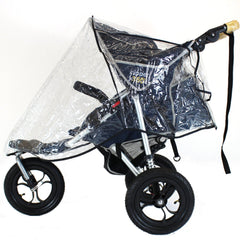 Raincover Chicco Activ3 Pushchair Rain Cover - Baby Travel UK  - 2