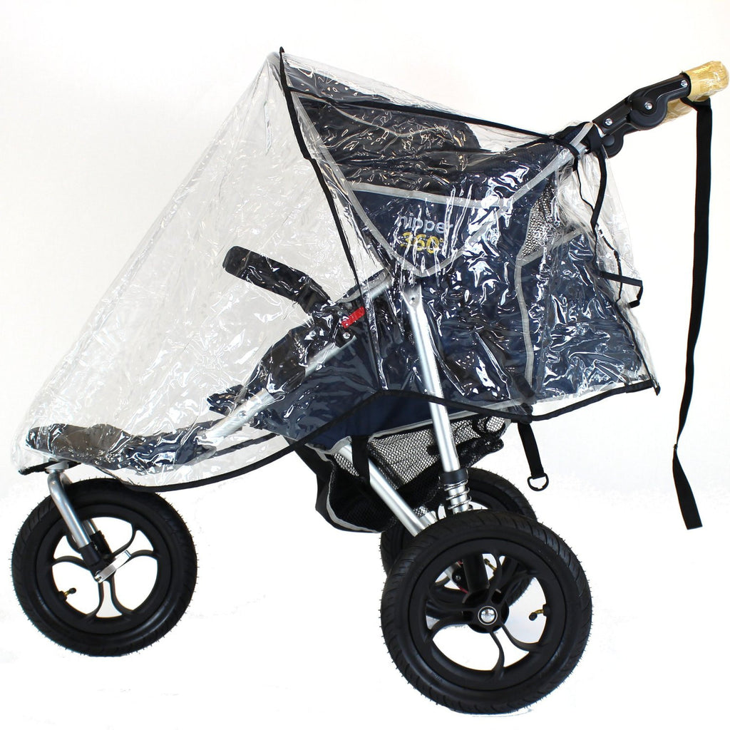 Rain Cover For Out N About Nipper Single 360 Stroller Rain Cover New - Baby Travel UK  - 1