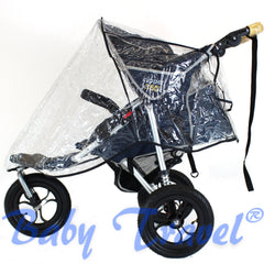 3 Wheeler Raincover For Cosatto Venture Stroller - Baby Travel UK  - 2