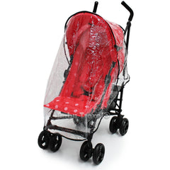 Raincover Throw Over For Zeta Vooom Stroller Buggy Rain Cover - Baby Travel UK  - 3