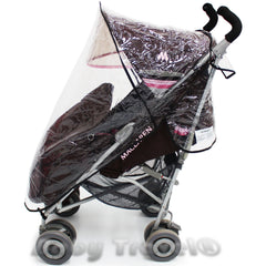 Rain Cover For Maclaren Techno Xlr Stroller - Baby Travel UK  - 8
